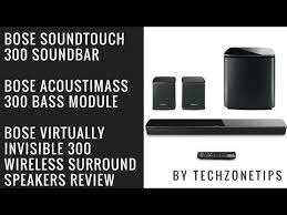 bose virtually invisible 300 speakers. bose soundtouch 300 with acoustimass bass module \u0026 wireless surround speakers review virtually invisible s