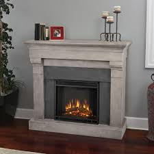 real flame torrence 50 inch electric fireplace with mantel cinder stone gas log guys