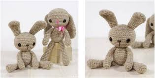 Free Crochet Bunny Pattern Mesmerizing Adorable LongLegged Crocheted Bunny [FREE Crochet Pattern]