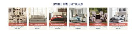 limited time only furniture deals