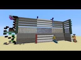 Minecraft 4 High Pegasus Portcullis Piston Gate YouTube