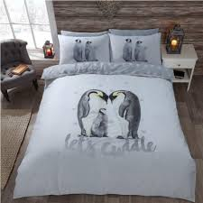 lets cuddle penguin reversible bedding duvet set king size 263881 p5435 15037 image jpg