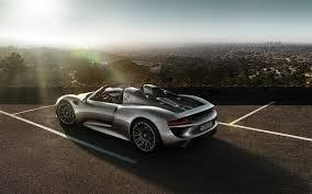 porsche 918 spyder black wallpaper. 2015 porsche 918 spyder side black wallpaper