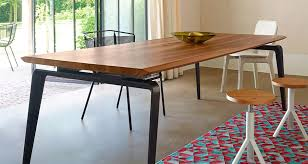 odessa rectangular dining table by ligne roset modern tables los angeles modern rectangular dining table84 modern