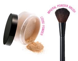 kabuki brush for applying powder foundation