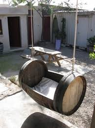 diy ways to re use wine barrels 16