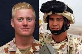 LtoR Sapper Jacob Moerland and Sapper Darren Smith - ABC News (Australian  Broadcasting Corporation)