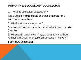 Primary And Secondary Succession Venn Diagram Primary And Secondary Succession Venn Diagram