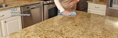 caring for granite countertops header image