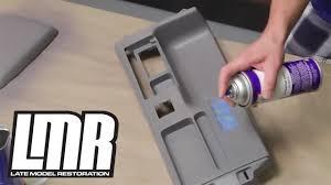 how to paint dye interior vinyl plastic parts mustang tech fox sn95 s197