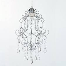 how to fit a chandelier easy fit pendant shade chandelier crystal effect shade chrome fitting easy
