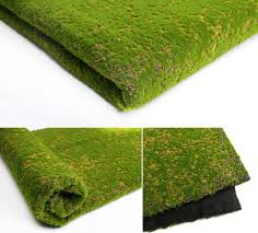 simulation moss turf lawn wall green