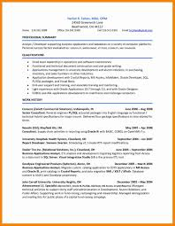 Etl Developer Sample Resume Intelligence Officer Sample Resume
