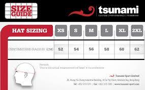 Xs Size Chart Size Charts Tsunami Sport