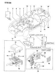 1991 dodge stealth attaching parts wiring harness diagram 0000089m