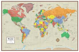 national geographic world wall map picture poster laminated home office school