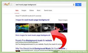 how to make music program how to make a website about music 4 steps with pictures