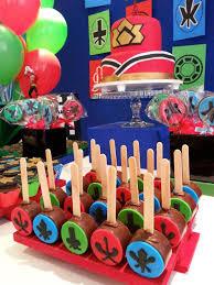 power rangers samurai birthday party via kara s party ideas karaspartyideas com cake supplies