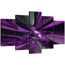 display gallery item 4 5 piece set of living room purple canvas prints display gallery item 5