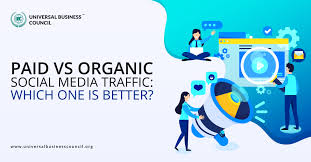 Paid vs. Organic Social Media Traffic: Which One is Better?