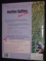 Noble Maurine Machine Quilting Made Easy (the Joy of   eBay & 1 Adamdwight.com