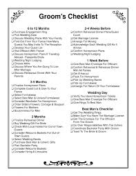 Checklist For Wedding Day Novelty Wedding Gifts For Bride And Groom Unique Groom Checklist