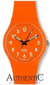 17 best images about orange watches wish list swatch go105 watch originals mens orange