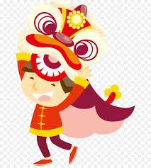 Barongsai adalah tarian tradisional tiongkok dengan menggunakan sarung yang menyerupai singa. Chinese New Year Lion Dance Cartoon