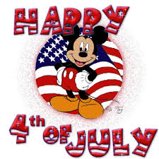 cartoon funny happy 4th of july message
