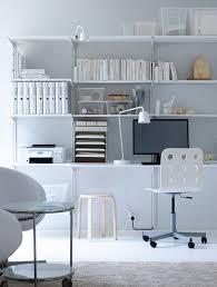ikea home office wall shelves