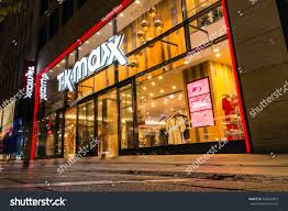 City Lights Clothing Store Tk Maxx Clothing Store Beautiful Entrance Stock Photo Edit