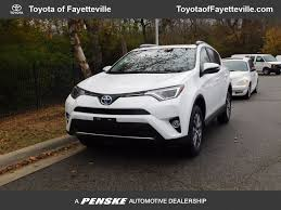 2016 Used Toyota RAV4 Hybrid AWD 4dr XLE at Toyota of Fayetteville ...