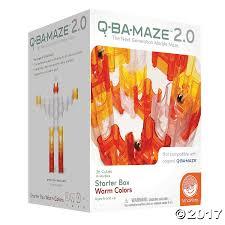 Q-BA-MAZE 2.0: Starter Box - Warm Colors