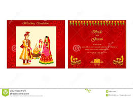 indian wedding invitation card stock vector image 48581700 Indian Wedding Card Free Vector indian wedding invitation card royalty free stock photo indian wedding card design vector free download