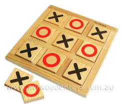 Naughts And Crosses Wooden Game Delectable Simple Wooden Naughts Crosses Game At My Wooden Toys