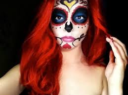 mexican sugar skull makeup tutorial day of the dead vlogger is lynne she