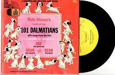 101 dalmatians disney see hear read 7 33 vinyl record 24 page book