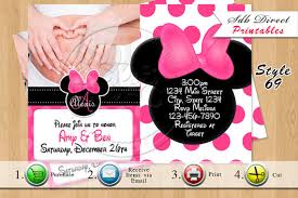 Mickey Mouse Invitation Template Free Mickey Mouse Invitations
