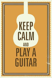 How To Make A Keep Calm Poster Keep Calm And Play Guitar Poster Paper Print Decorative