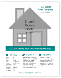 Free House For Sale Flyer Templates Coastal Flyers
