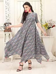 Designer Kurtis Collection Ikkat Simple Kurti Designs Dresses New Designer Dresses