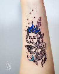 мои первые татуировки