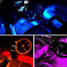 interior led lighting. Car Interior Led Strip 12v Multicolor Music Under Dash Lighting Kit With Sound Active And Remote Control, Charger Included Flexible H