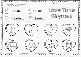 Kindergarten Valentine Worksheets For Kindergarten Worksheets For ...