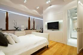 I love these glass lamps and this mirrored console by the french mix. Bedroom Design Tv