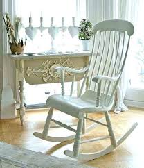 white wooden rocking chair. White Wooden Rockers Rocking Chair For Baby Nursery Chairs Outdoor A