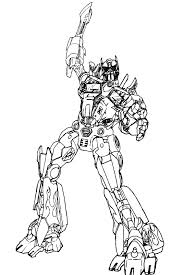 Small Picture Beautiful Optimus Prime Coloring Page Optimus Prime Coloring Page