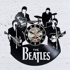 Record Gifts Vintage Vinyl Record Wall Clock Gift For Music Lovers Personalized