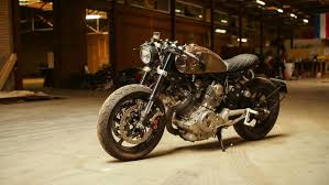 yamaha xv750 caferacer with a story