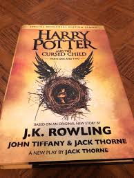 harry potter and the cursed child book 8
